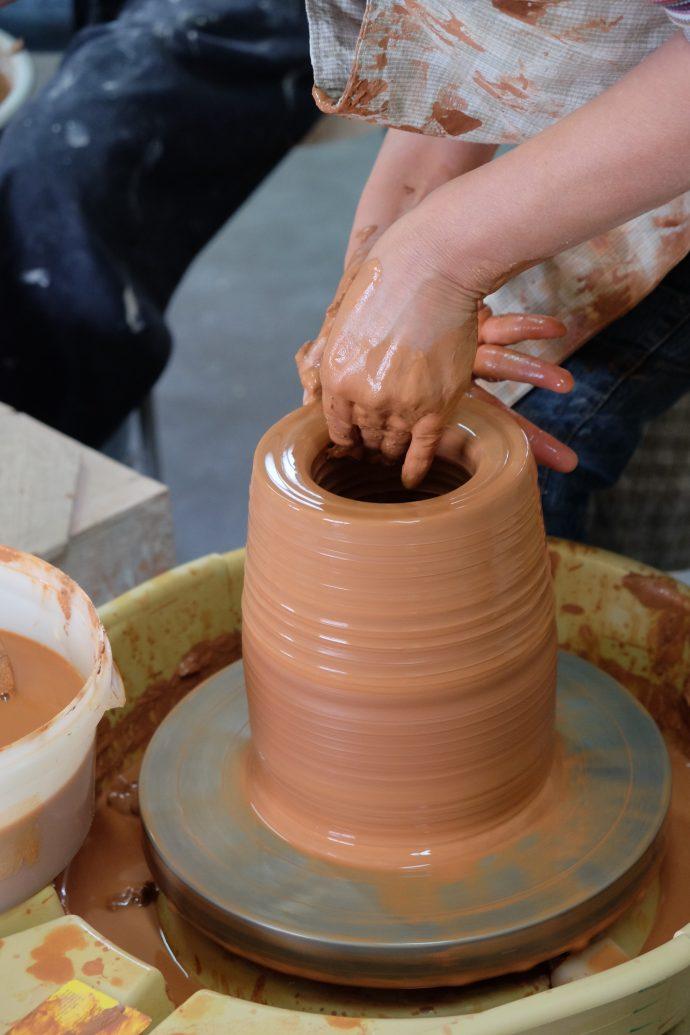 Keramieklessen voor gevorderden keramika Eddy Van Meulebroeck