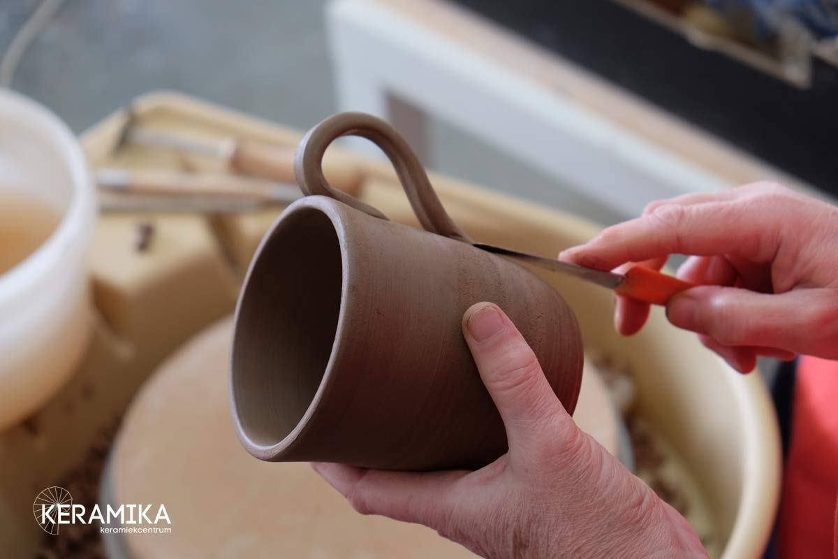 workshops draaien Keramika