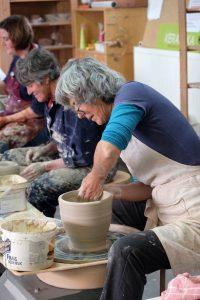 Workshop pottendraaien Keramika Lievegem