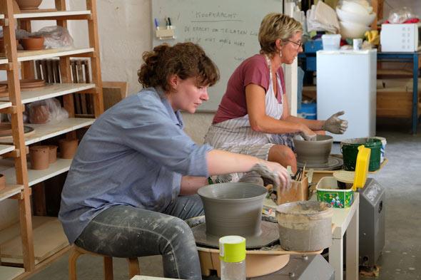 rudi delanghe workshop groot draaienbij keramika