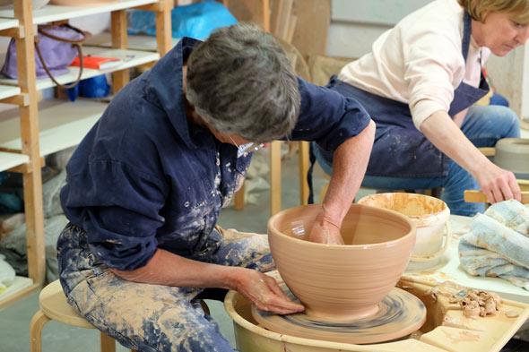 workshop pottenbakken keramika