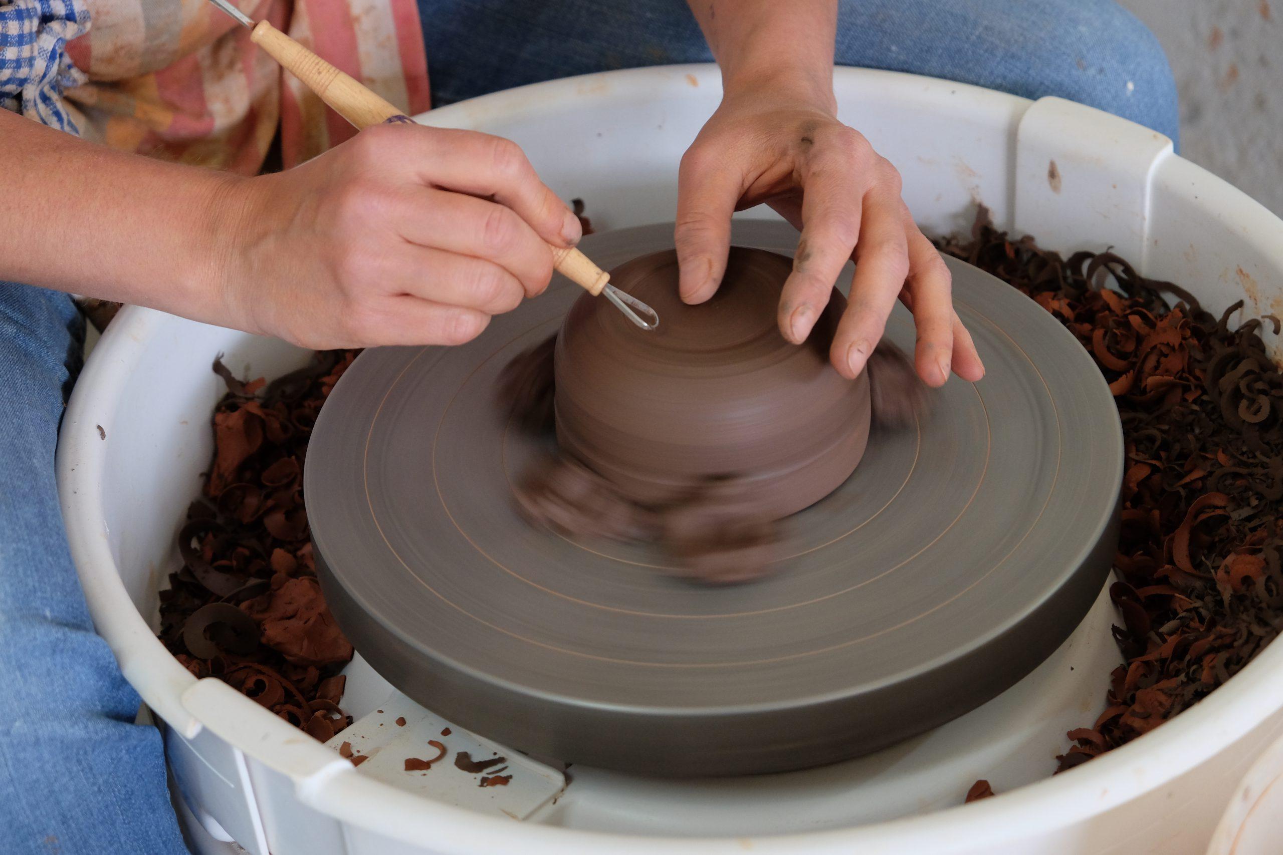 Keramiekles draaien - Gent Keramika