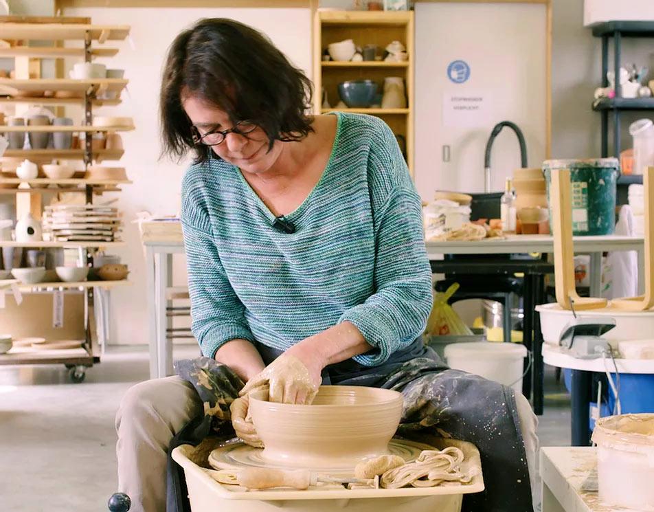 Françoise buisn - keramika keramiekcentrum Lievegem