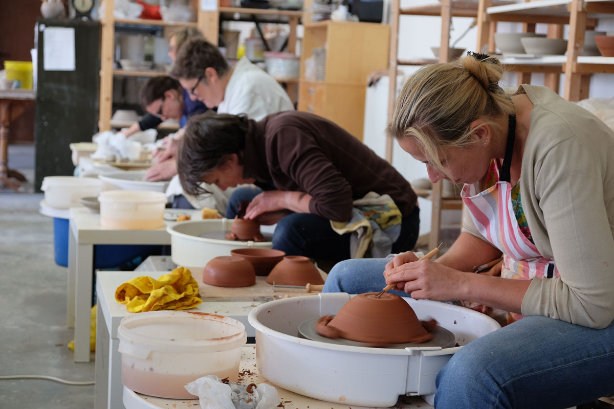 Keramika Lievegem pottenbakken keramiek